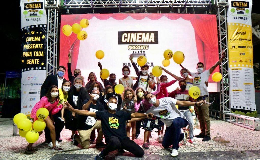 Queissada Comunicação finaliza o projeto do Cinema Presente que democratizou o acesso ao cinema brasileiro à céu aberto